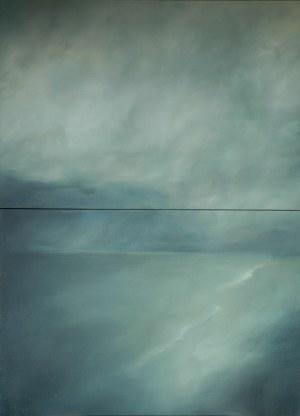 Joanna Dyląg-Faliszek, Za mgłą, 2013 – dyptyk