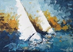 Anna Stępień (ur. 1982), Morskie opowieści 3, 2020