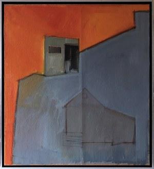 Iwona Stachura (ur. 1968), Recykling szkicu. Szary 1, 2015