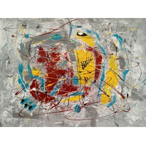 Ewa Najdenow (ur. 1967), Action Abstract VI, 2020