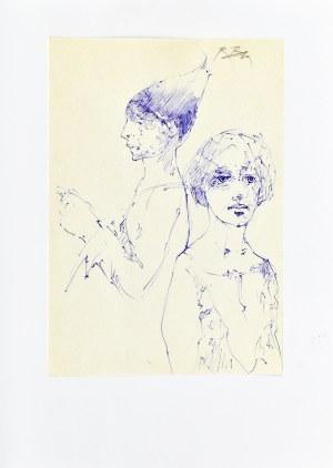 Roman Banaszewski (Ur. 1932), Szkice dwóch postaci