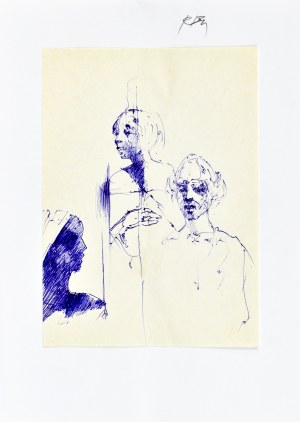 Roman Banaszewski (Ur. 1932), Szkice trzech postaci