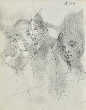 Roman Banaszewski (Ur. 1932), Szkice głów