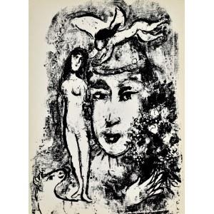 Marc Chagall (1887 - 1985), Le Clown Blanc