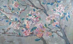 Henryk Krych (1905-1980), Kwitnące drzewa