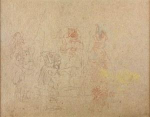 Jacek Malczewski (1854-1929), Szkice postaci
