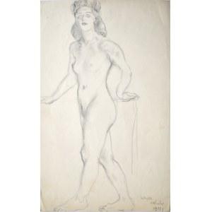 Kasper Pochwalski (1899-1971), Akt stojącej kobiety, 1941