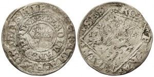 Ferdinand I. pražský groš lehký 1547,