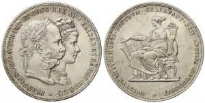 2 zlatník 1879 s tříbrná svatba