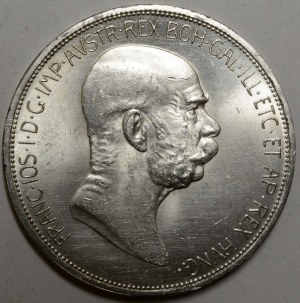 5 K 1908 jubilejní,  dr. rysky, nep. hry