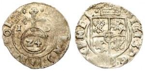 Poland 1/24 Thaler 1615 Sigismund III Vasa (1587-1632).Averse: Crowned shield. Reverse...