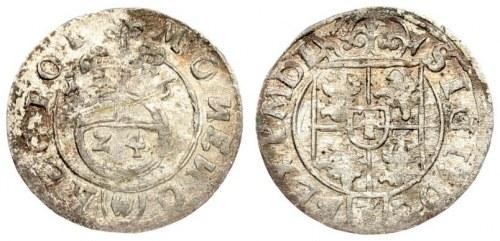 Poland 1/24 Thaler 1616 Sigismund III Vasa (1587-1632).Averse: Crowned shield. Reverse...