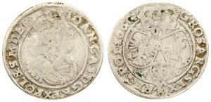 Poland 6 Groszy 1666 AT Bydgoszcz. Johann Casimir(1649-1668). Averse...