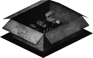 Kamil Kocurek, Topography of war: Box, 2015