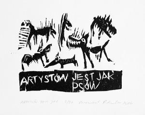 Piotr Ambroziak, Artystów jest jak psów, 2014
