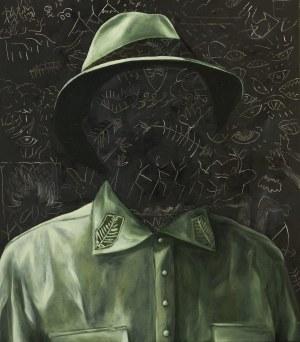 Dawid Czycz, Portret zielony, 2017