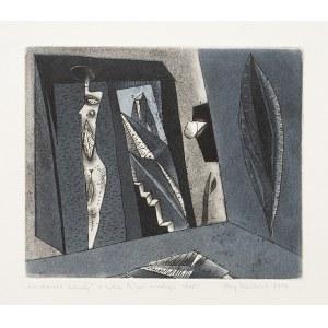 Jerzy Dmitruk (ur. 1960), Kuchenne schody z cyklu Żywot malarza, 2010
