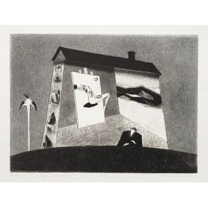 Jerzy Dmitruk (ur. 1960), Poeta o świcie z cyklu Żywot malarza, 2006