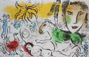 Marc Chagall, Zielony koń