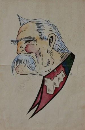 H.K., Karykatura Józefa Piłsudskiego