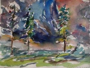 Tadeusz Świniarski (ur. 1961), Trzy drzewa 3, 2020
