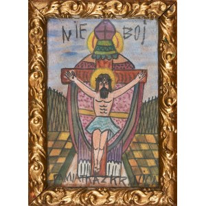 Nikifor Krynicki (1895-1968), Chrystus ukrzyżowany