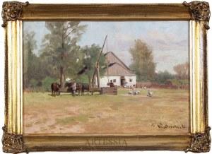 Walery Brochocki (1847-1923), Zagroda