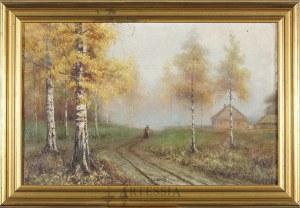 Wiktor Korecki (1890-1980), Na skraju lasu