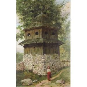Józef Rapacki (1871-1929), Przed dzwonnicą, 1917