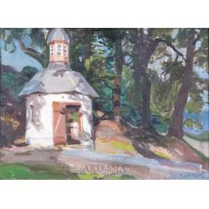 Teodor Ziomek (1874-1937), Kapliczka wśród drzew