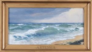 Soter Jaxa-Małachowski (1867-1952), Nad brzegiem morza, 1933