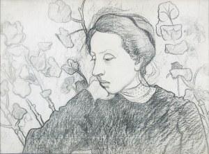 Tymon Niesiołowski (1882-1965), Portret Elizy Mogilnickiej, 1905