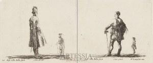 Stefano Della Bella (1610-1667), Dwie grafiki - Polska szlachta, ok. poł. XVII w.