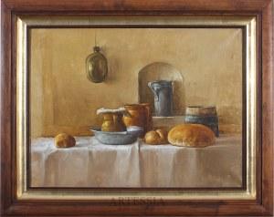 Józef Panfil (ur. 1958), Martwa natura na stole, XX/XXI w.