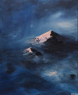 Yuliya Stratovich, Mountains, 2020