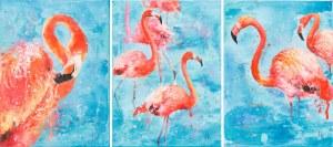 Khrystyna Hladka, Flamingos, 2019