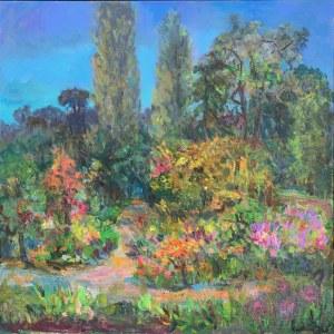 Maria Dziopak, Spacer w ogrodzie II