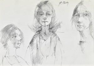 Roman Banaszewski (Ur. 1932), Szkice kobiet