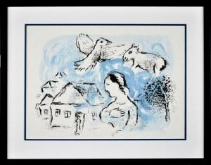 Marc Chagall (1887 - 1985), Wioska (Le Village), 1977