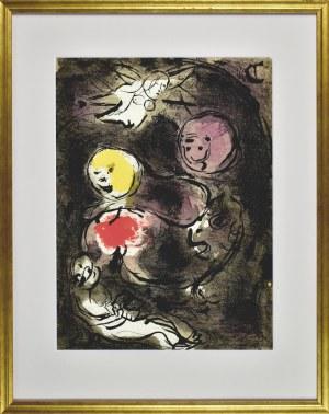 Marc Chagall (1887 - 1985), Prorok Daniel i lwy