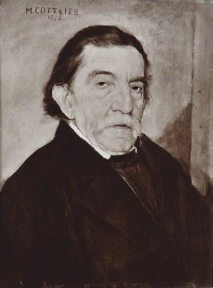 Maurycy Gottlieb (1856-1879), Portret Ignacego Kurandy