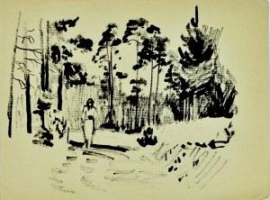 Ludwik Maciąg (1920-2007), Spacer w lesie