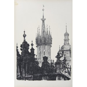Jan Kanty Gumowski (1883-1946), Szczyty Sukiennic i wieże kościoła Mariackiego