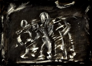 Krystyna Pelletier (1914-2007), Kroczące postacie