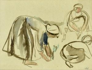 Wojciech Weiss (1875-1950), Prace w ogrodzie