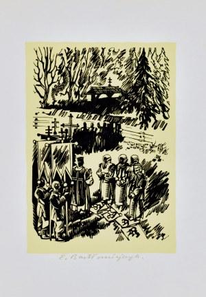 Edmund Bartłomiejczyk (1885-1950), Pogrzeb huculski