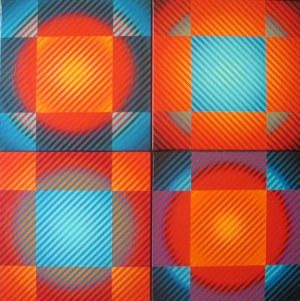 Michał WĘGRZYN (pseud. DEMENZ) Color Vibration 23-26, 2020 r.
