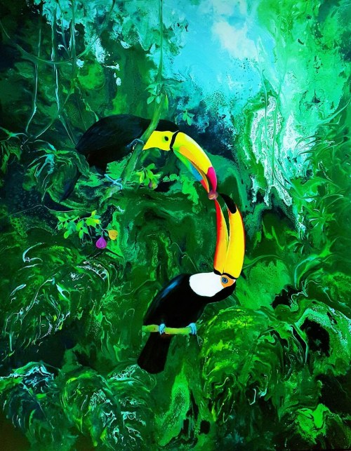 Patrycja Kruszyńska-Mikulska, Green Paradise II, 2020