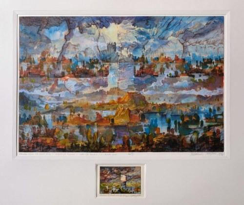 Krzysztof Wieczorek, Metamorfoza pejzażu lub opowieść druga z topograficznych oceanów - EA XII, 2007