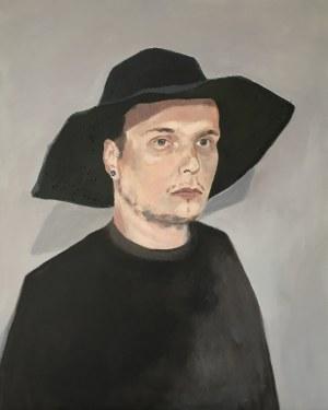 Marta Horch, Czarny kapelusz, 2019
